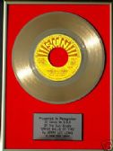 "JERRY LEE LEWIS- 7"" Gold Disc-GREAT BALLS OF FIRE (SUN)"